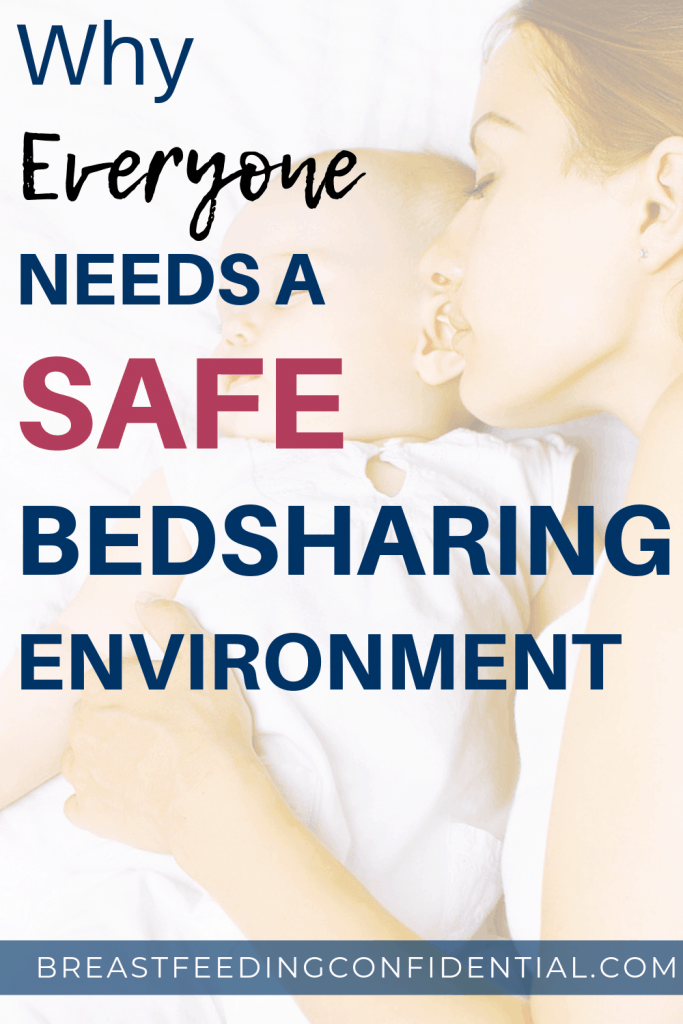 Bed-sharing safely pin