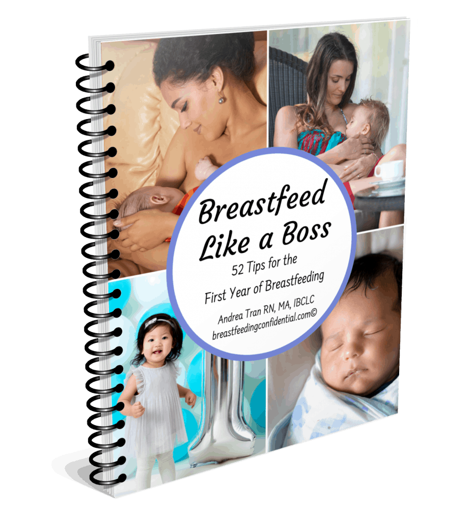 cover of breastfeeding tips book