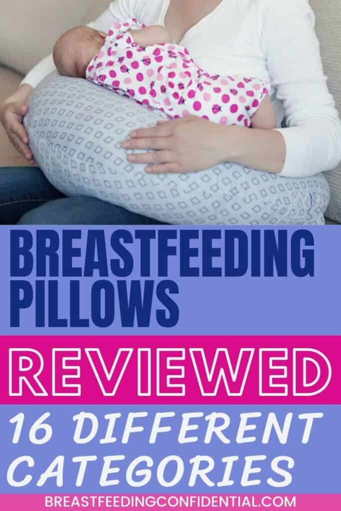Pin for Breastfeeding Pillows Reviewed